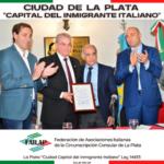 La ciudad de La Plata declarada «Capital del Inmigrante Italiano»