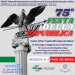FAILAP celebró el 75° aniversario de la República Italiana
