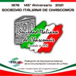 La Sociedad Italiana de Chascomús celebra su 145° aniversario