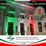 La Sociedad Italiana de Gral. Belgrano celebra su 130° aniversario