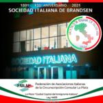 130° aniversario de la Sociedad Italiana de Brandsen